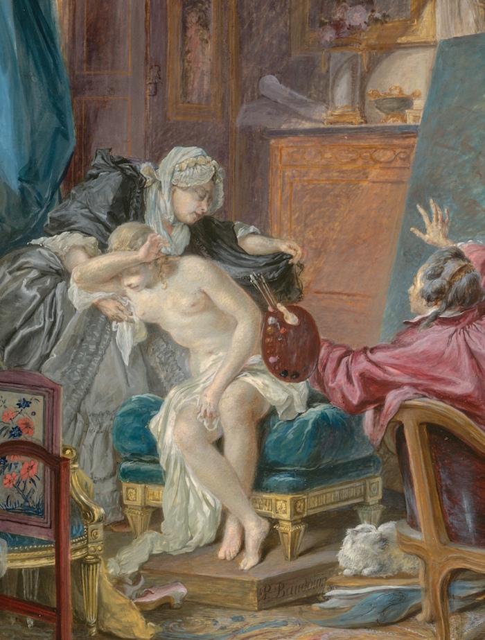 Pierre-Antoine Baudouin, dessinateur du libertinage au XVIIIe siècle Baudou11