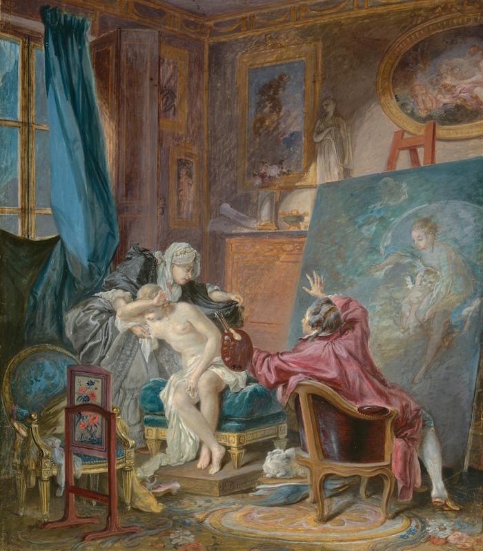 Pierre-Antoine Baudouin, dessinateur du libertinage au XVIIIe siècle Baudou12