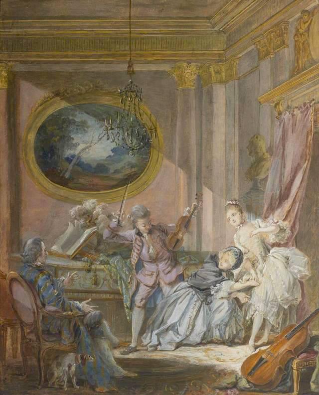 Pierre-Antoine Baudouin, dessinateur du libertinage au XVIIIe siècle Baudou14