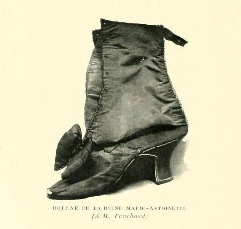 Les souliers et chaussures de Marie-Antoinette  - Page 7 Bottin10