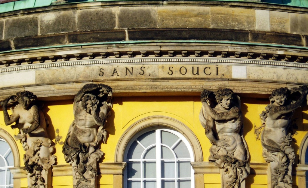 Le palais et le parc de Sans-souci, ou Sanssouci, à Potsdam  Bronze10