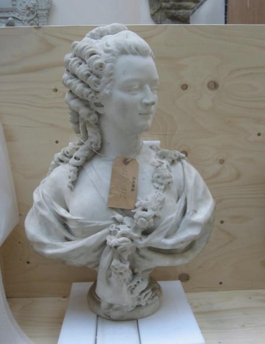 Sculpture : Les bustes de la princesse de Lamballe (présumée) Buste_12
