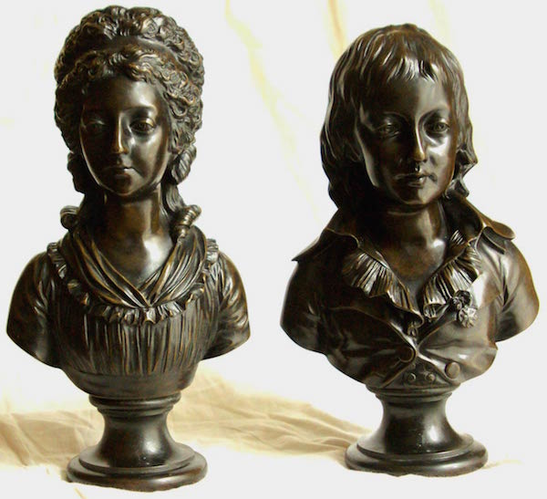 Portraits en buste et sculptures de Madame Royale Bustes10