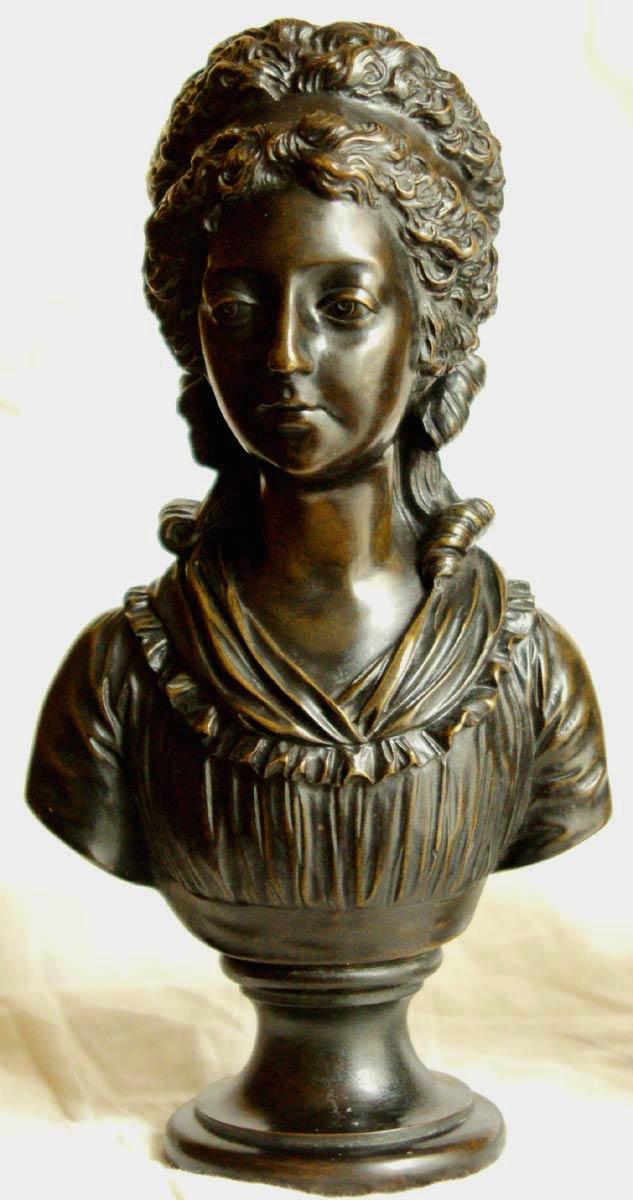 Portraits en buste et sculptures de Madame Royale Bustes11