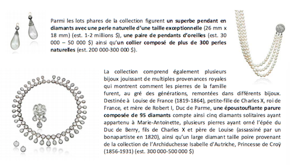 Bijoux de Marie-Antoinette : perles et diamants des Bourbon-Parme - Page 4 C1010