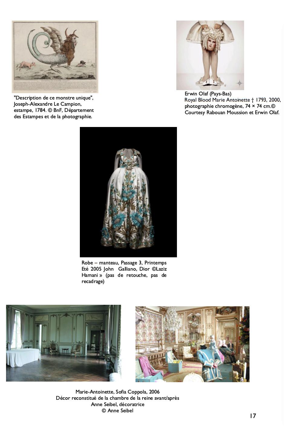 Exposition à la Conciergerie : Marie-Antoinette, métamorphoses d'une image  C11