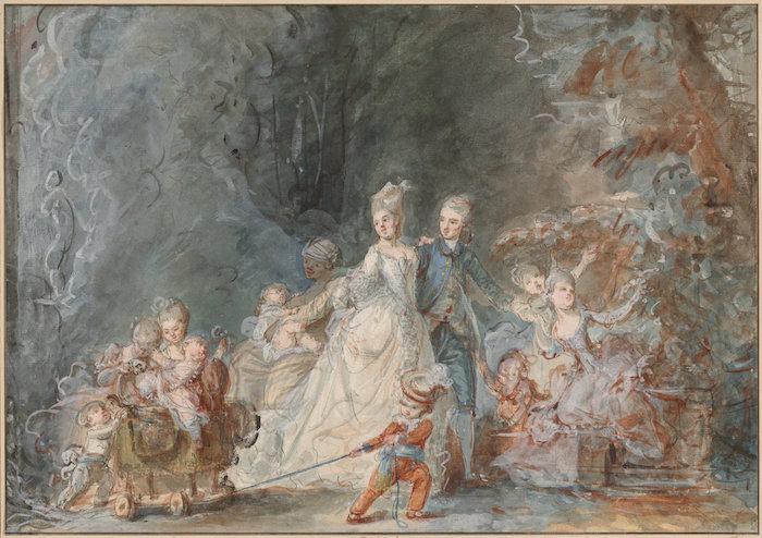 Pierre-Antoine Baudouin, dessinateur du libertinage au XVIIIe siècle C1254710