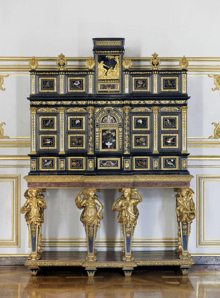Exposition : Créer pour Louis XIV, les manufactures de la Couronne sous Colbert et Le Brun - Galerie des Gobelins Cabine11