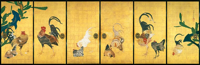Exposition : Jakuchū (1716-1800), le Royaume coloré des êtres vivants Cactus10