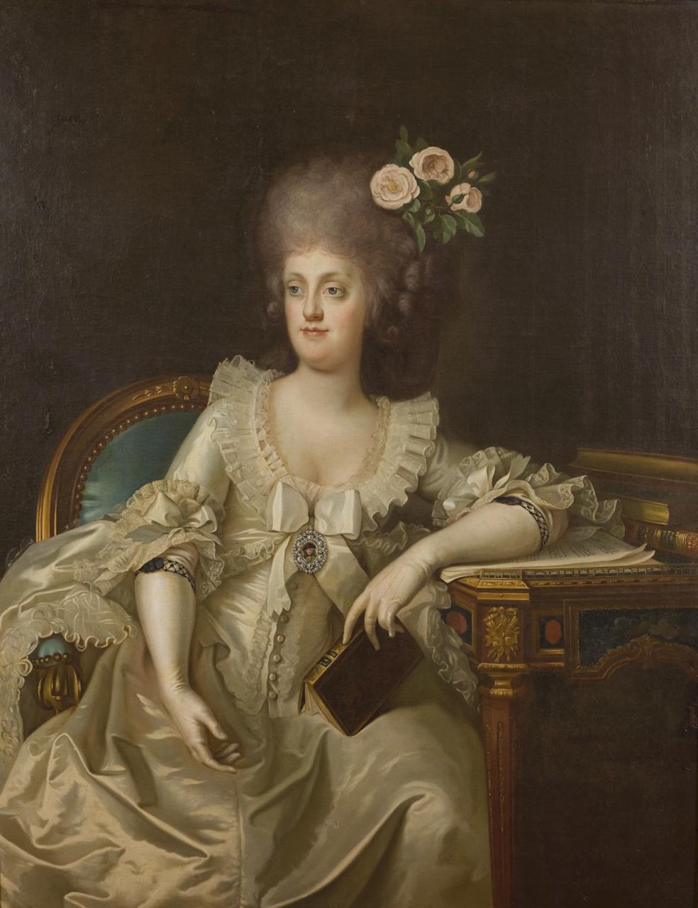 Portraits de Marie Caroline d'Autriche, reine de Naples et de Sicile - Page 4 Camill13