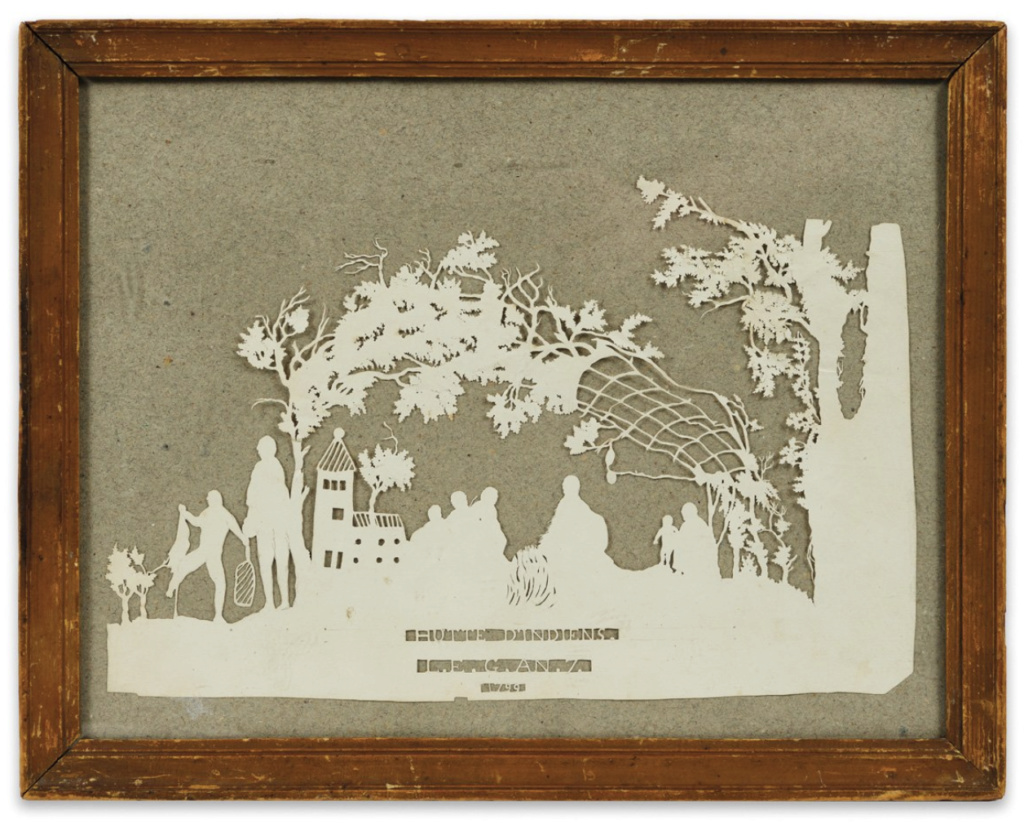 L'art des découpures : figures en papier découpées Capt1023