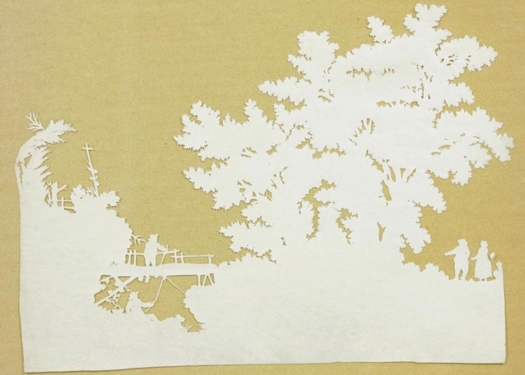 L'art des découpures : figures en papier découpées Capt1029