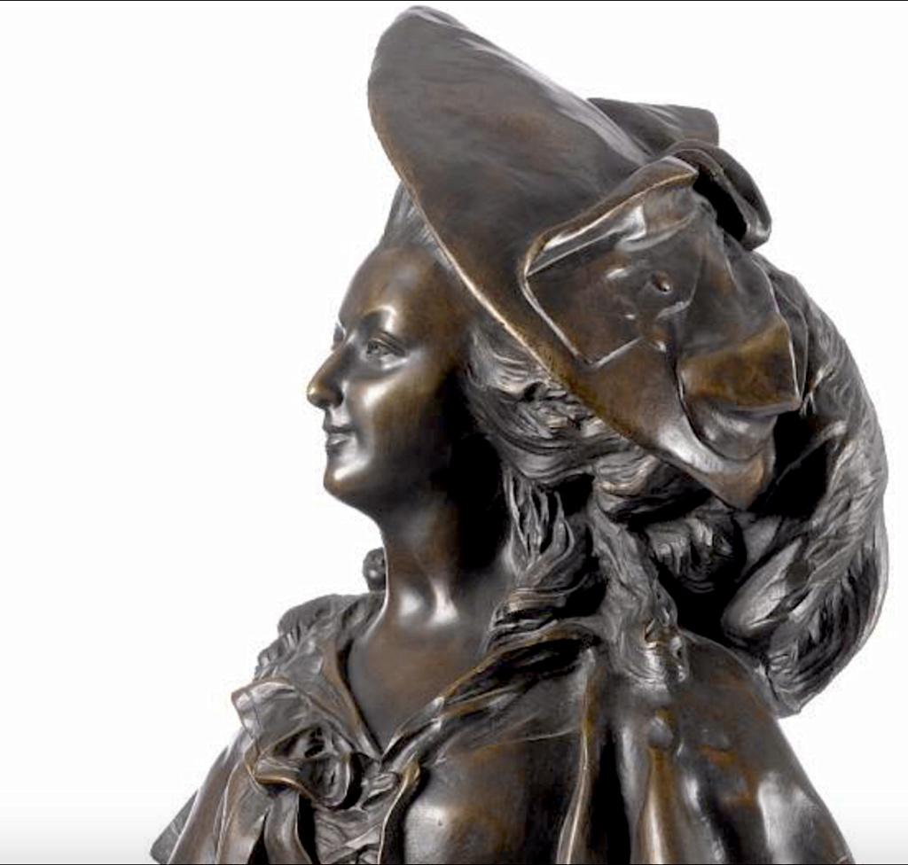 Marie-Antoinette par Jacques Boéro, statues et statuettes Capt1075