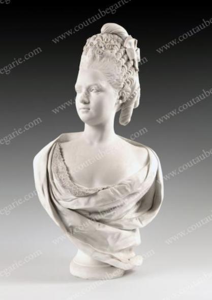 Buste de Mme Adélaïde, de Mme Clotilde, ou d'une inconnue (mais non pas de Marie-Antoinette) par Vavasseur ?  Capt1144