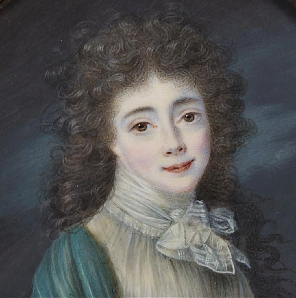 Hesse - Louise-Henriette-Caroline de Hesse-Darmstadt, une amie de Marie-Antoinette Capt1157