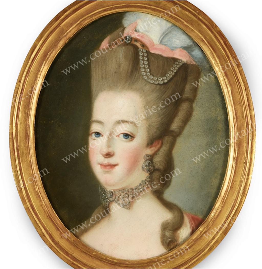 Portraits de Marie-Antoinette attribués aux Gautier Dagoty (ou d'après). - Page 2 Capt1196