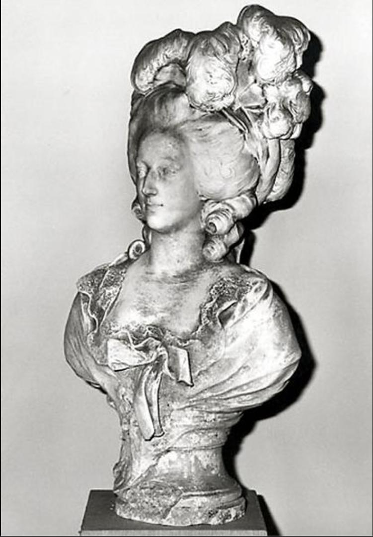 Buste de Marie-Antoinette par Antonin Mercié Capt1210