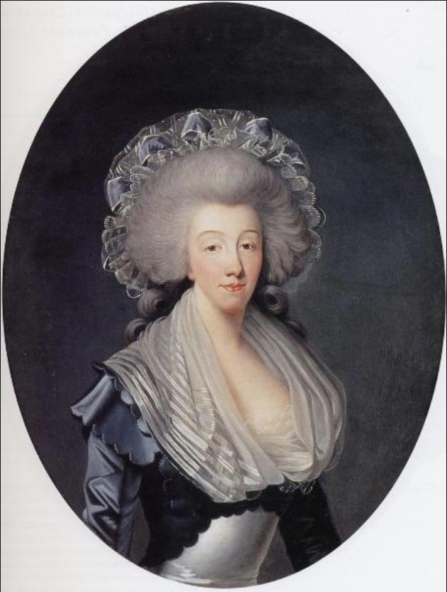 Savoie - Marie-Thérèse de Savoie, comtesse d'Artois Capt1231