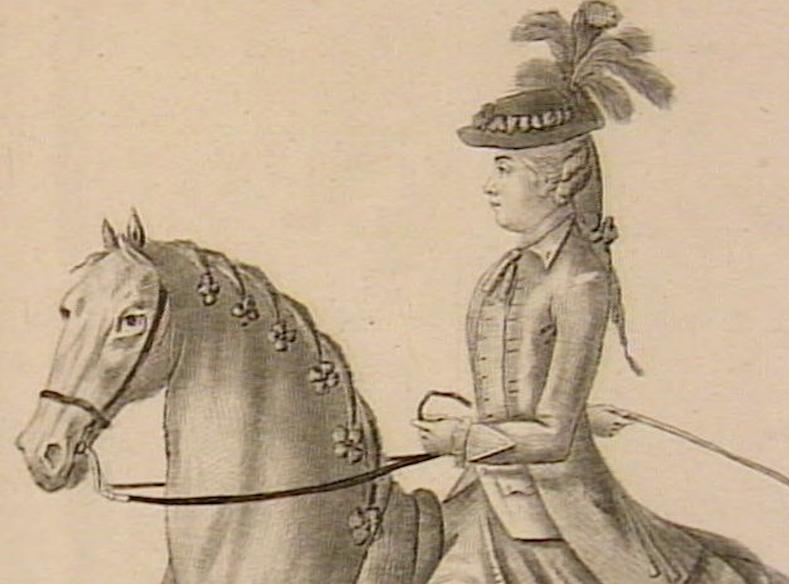 Série d'estampes : portraits équestres de Robin de Montigny  Capt1232