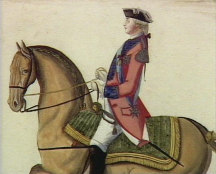 Série d'estampes : portraits équestres de Robin de Montigny  Capt1233