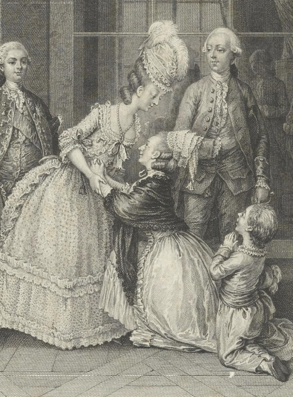 Marie-Antoinette par Charles-Henri des Fossés (Desfossés) ou Desfossez Capt1254