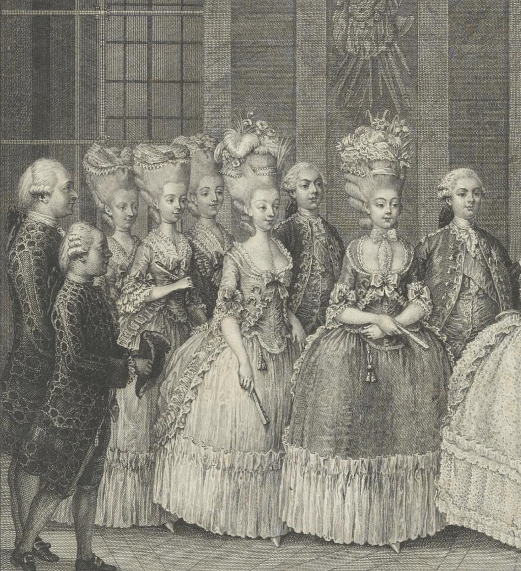 Marie-Antoinette par Charles-Henri des Fossés (Desfossés) ou Desfossez Capt1255
