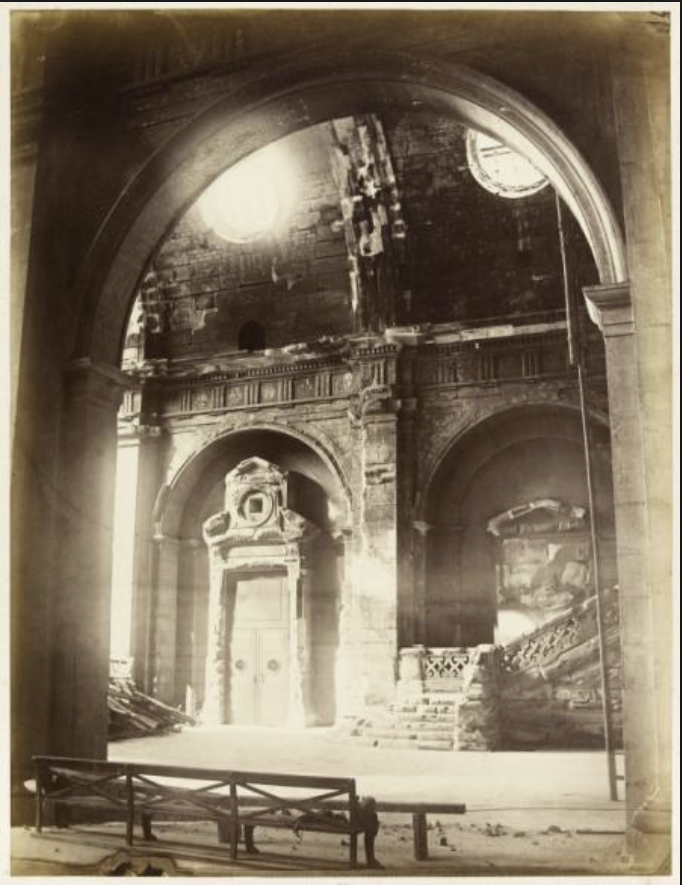 Le palais de Justice de L'île de la Cité, Paris, et la salle du Tribunal révolutionnaire Capt1280