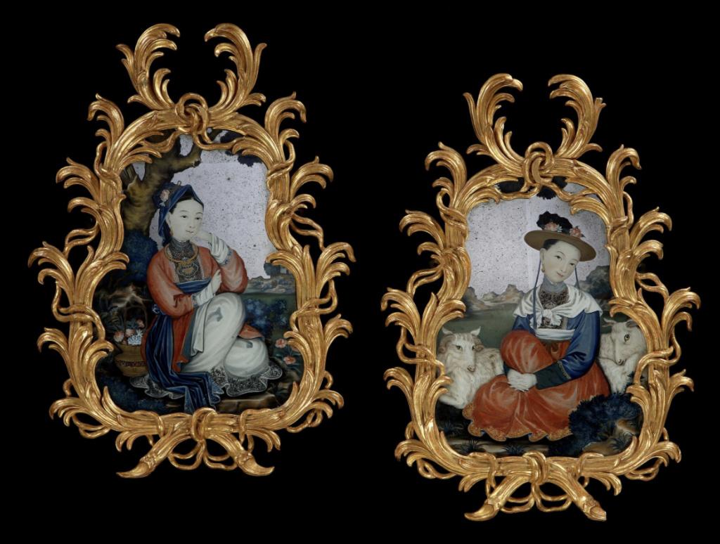 La peinture sous / sur verre chinoise au XVIIIe siècle Capt1288