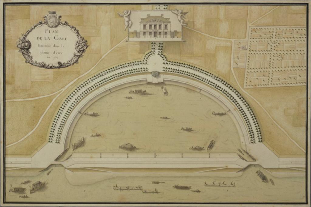 La Sirène : le bateau ou yacht royal de Marie-Antoinette Capt1313