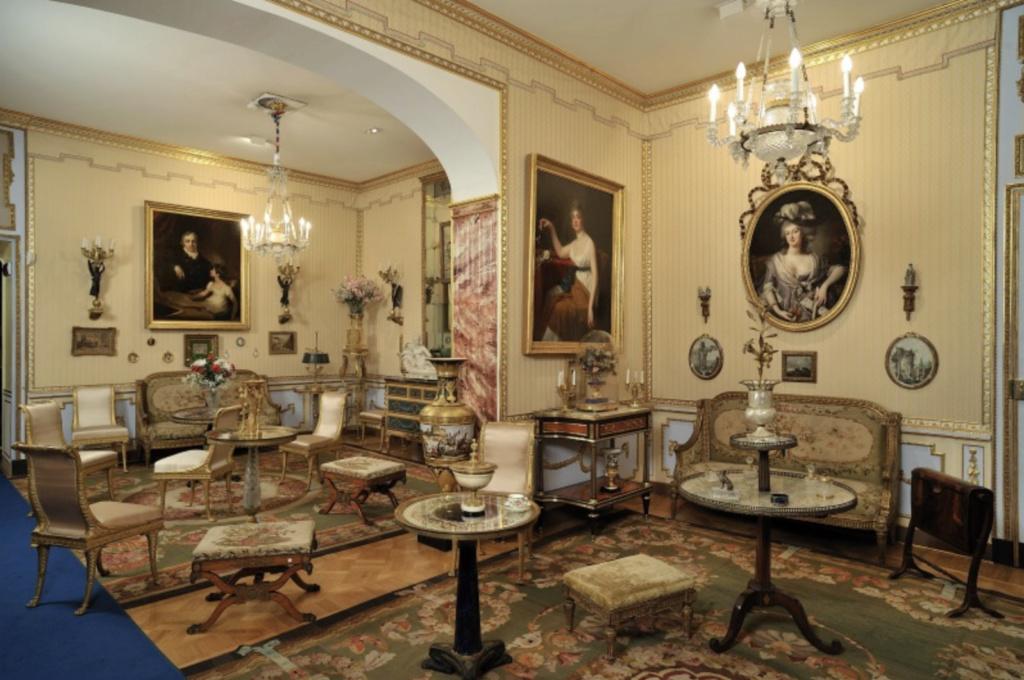Visite de la Fondation Accorsi - Ometto, musée des arts décoratifs (Turin) : le Cognacq-Jay turinois Capt1315