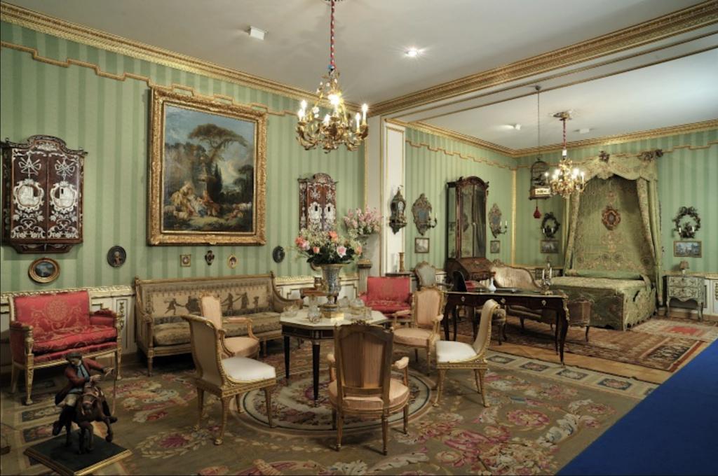 Visite de la Fondation Accorsi - Ometto, musée des arts décoratifs (Turin) : le Cognacq-Jay turinois Capt1320