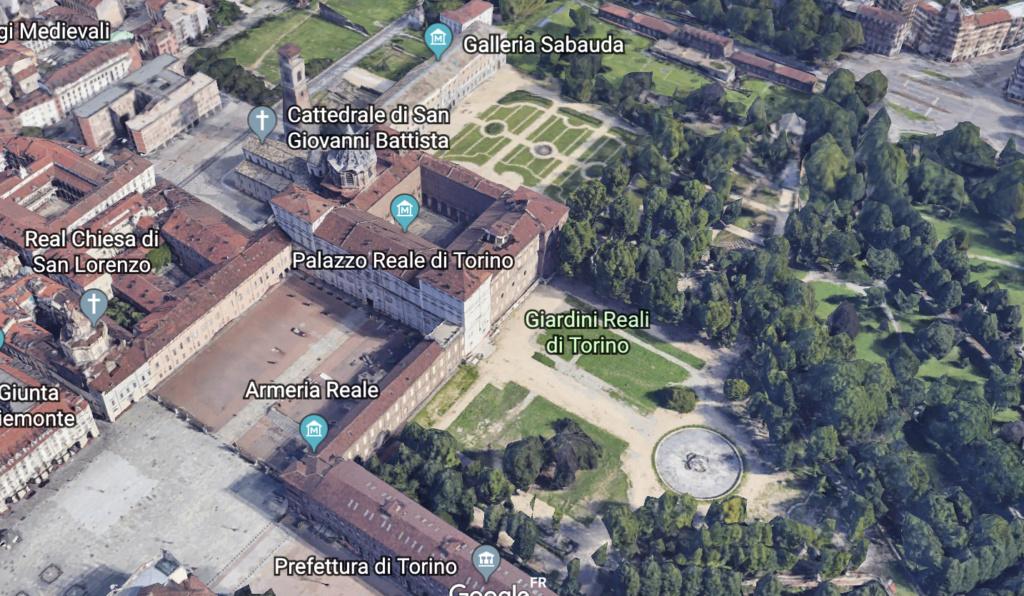 Le Palais royal de Turin (Palazzo Reale di Torino) Capt1345