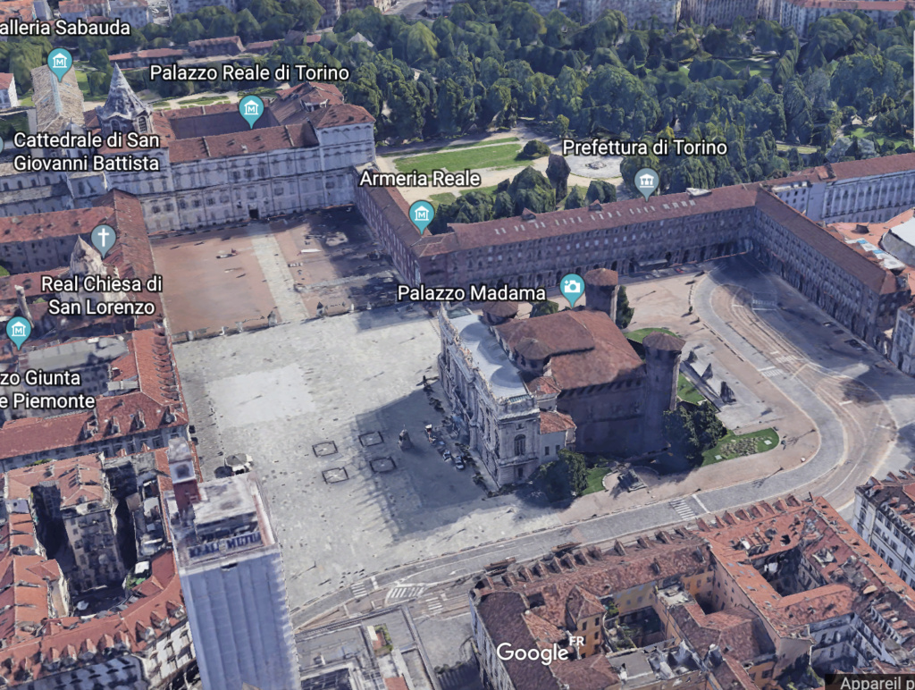 Le Palais Madame à Turin (Palazzo Madama, Torino) Capt1353
