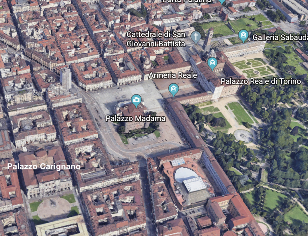 Le Palais Madame à Turin (Palazzo Madama, Torino) Capt1356