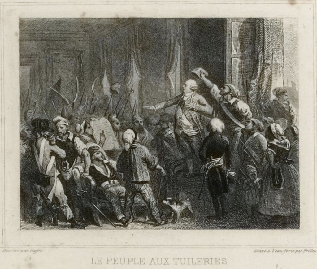 Louis XVI coiffé du bonnet phrygien Capt1380