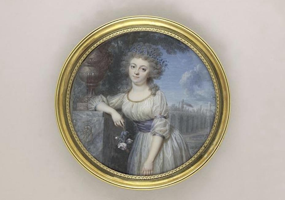 Jean-Baptiste-Jacques Augustin, peintre miniaturiste Capt1385