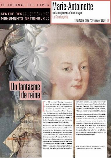 Catalogue de l'exposition : Marie-Antoinette, métamorphoses d'une image (La Conciergerie, Paris) Capt1442