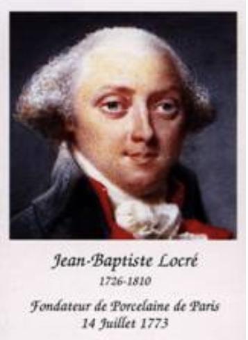 Marie-Antoinette : sujets allégoriques en porcelaine de la Courtine, Manufacture de Locré (Jean-Baptiste) Capt1446