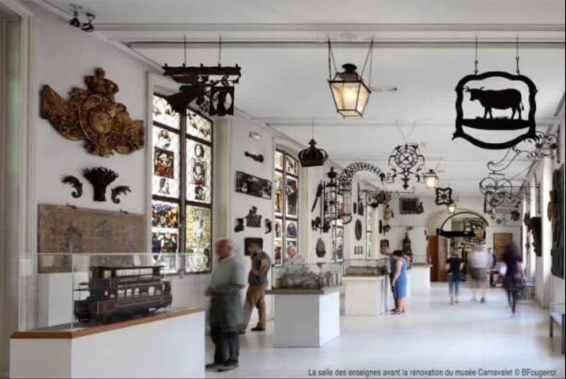 Appel aux dons pour la restauration de 20 enseignes du Musée Carnavalet Capt1467