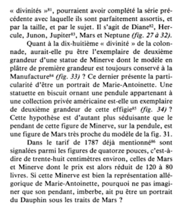 Groupe en biscuit de porcelaine de Niderviller, par Lemire : Marie-Antoinette représentée sous les traits de Minerve ? Capt1515