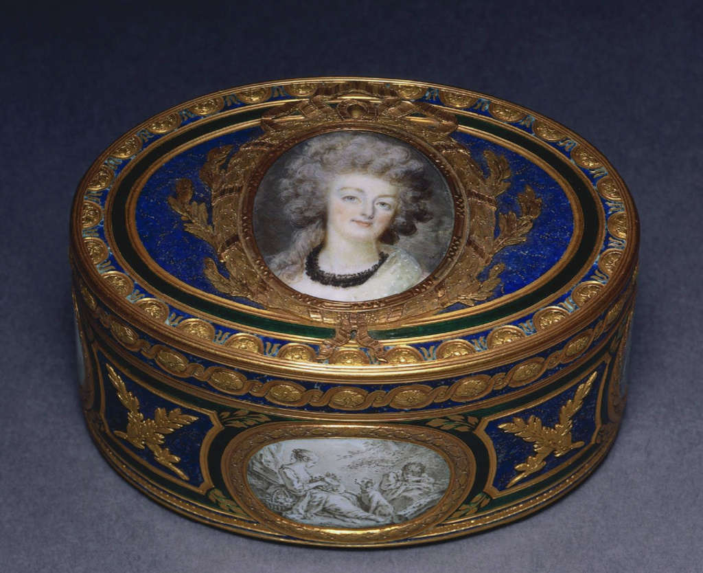 Marie Antoinette, miniatures attribuées à ou d'après François Dumont - Page 2 Capt1516