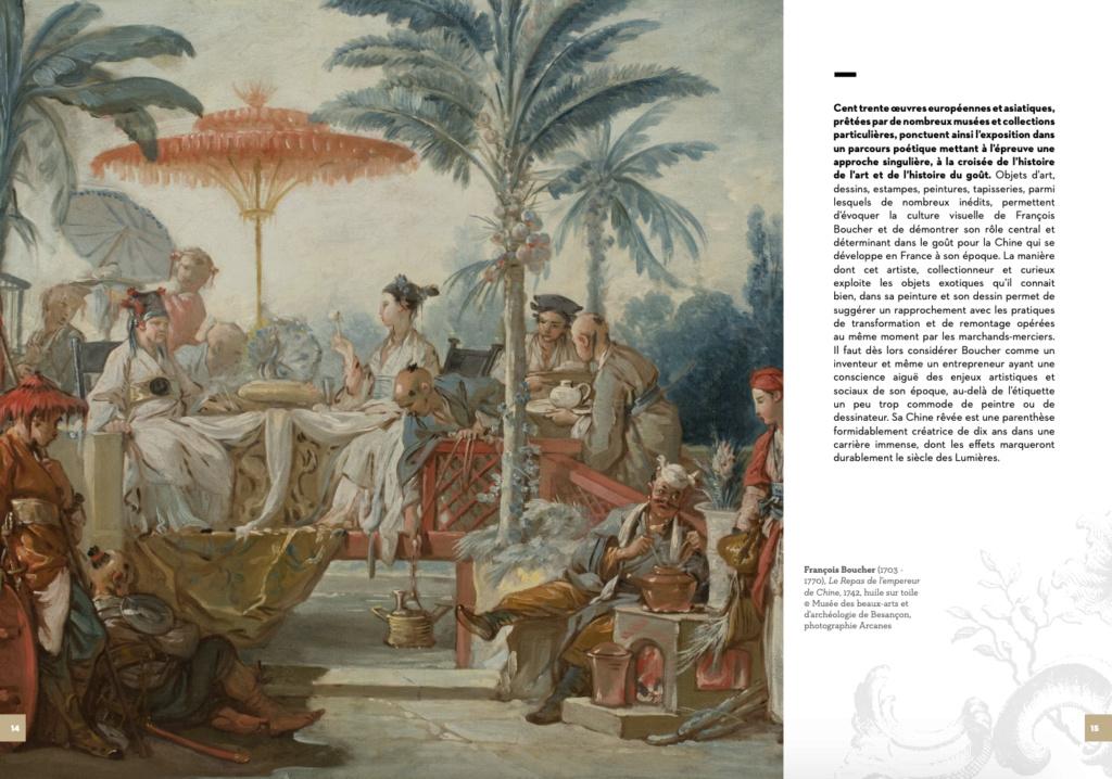 Exposition : Une des provinces du Rococo, la Chine rêvée de François Boucher (MBAA de Besançon) Capt1519