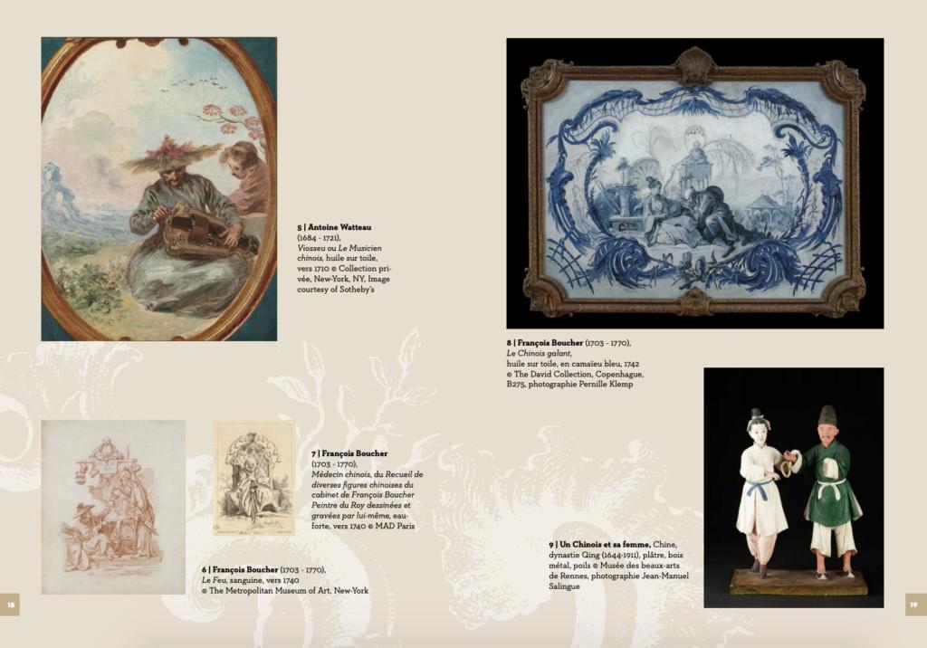 Exposition : Une des provinces du Rococo, la Chine rêvée de François Boucher (MBAA de Besançon) Capt1521