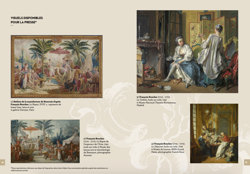 Exposition : Une des provinces du Rococo, la Chine rêvée de François Boucher (MBAA de Besançon) Capt1522