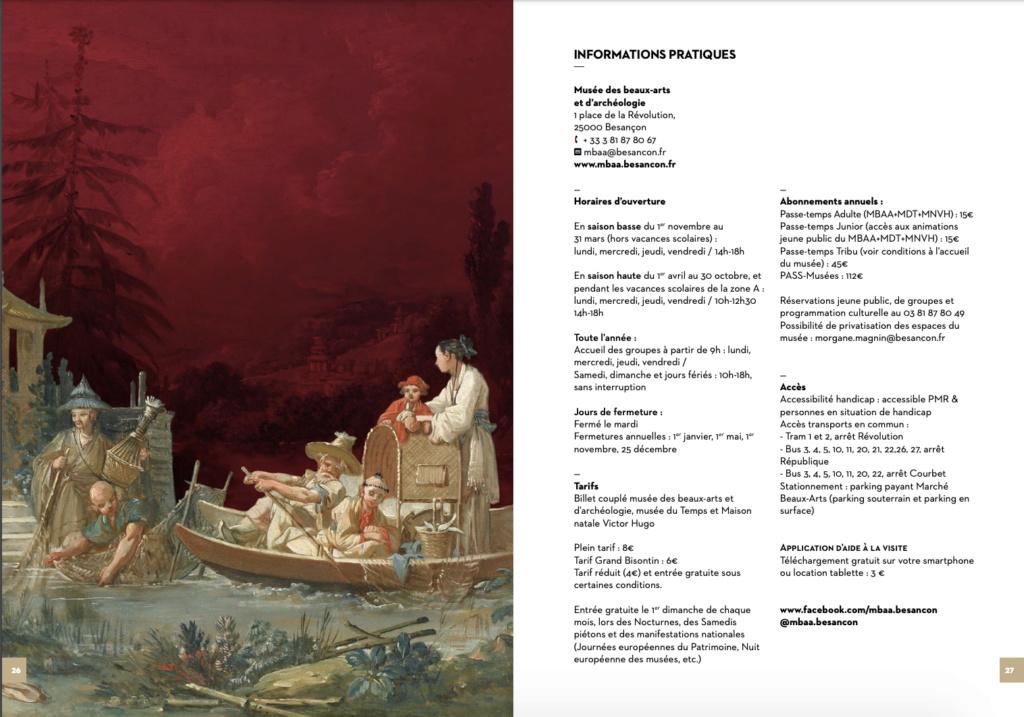 Exposition : Une des provinces du Rococo, la Chine rêvée de François Boucher (MBAA de Besançon) Capt1524