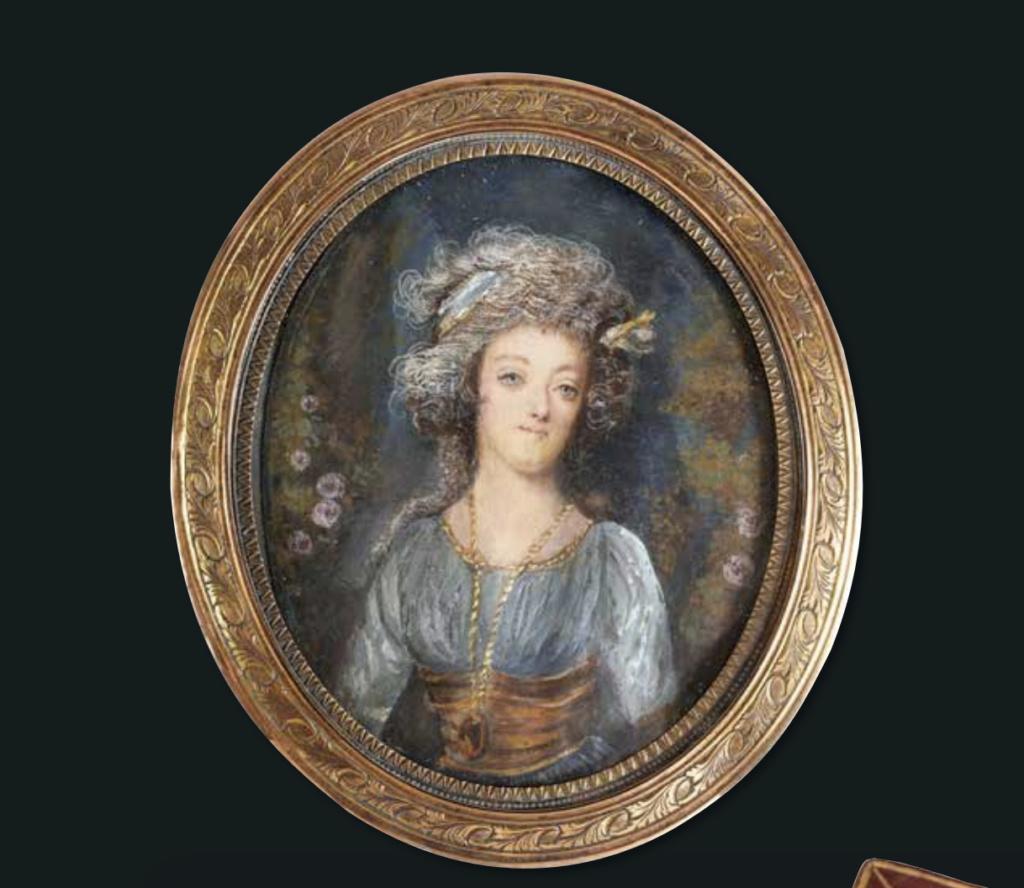 Marie Antoinette, miniatures attribuées à ou d'après François Dumont - Page 2 Capt1541