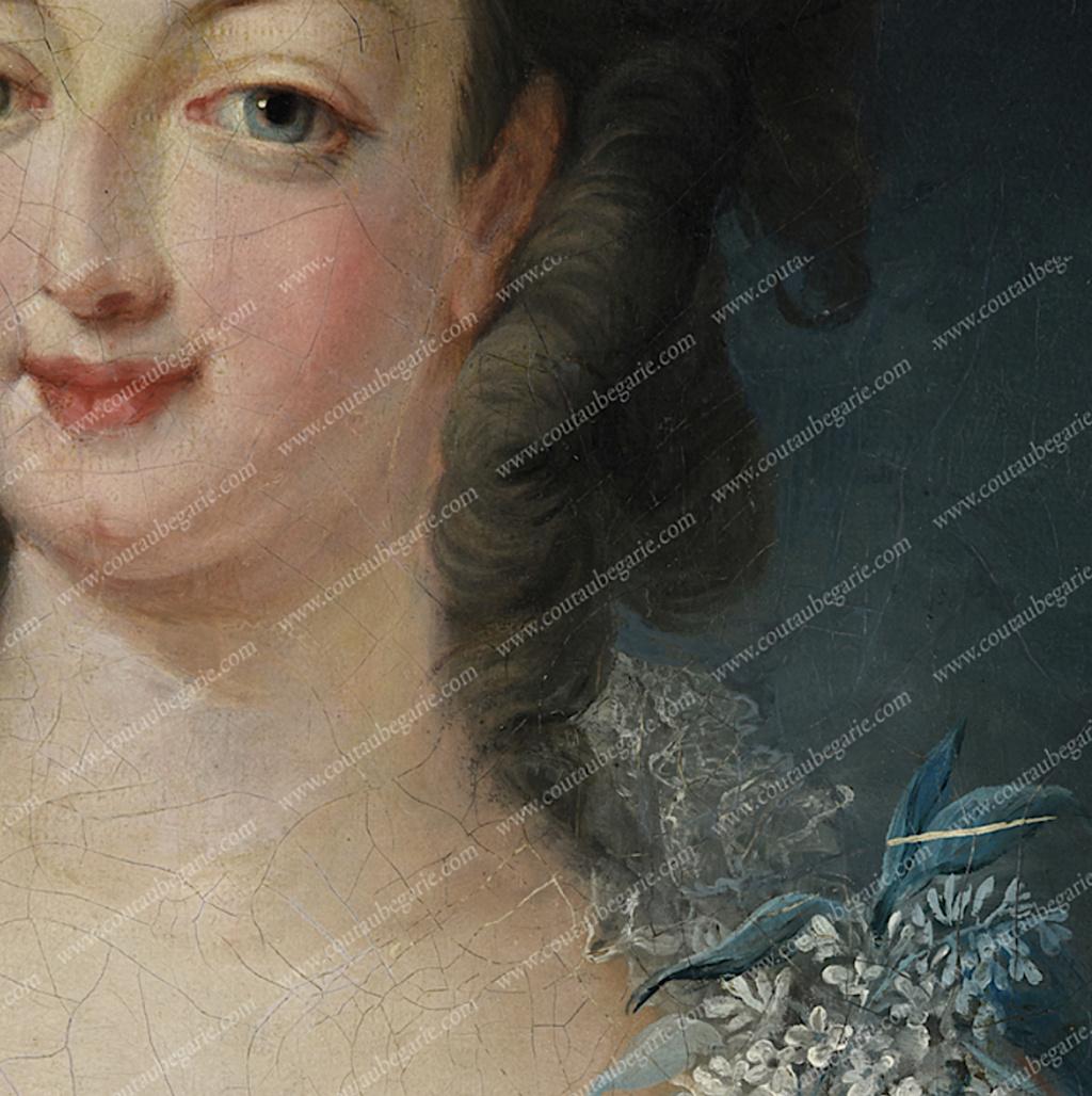 Gravures : Portraits de Marie Antoinette par Jean-François Janinet, d'après Dagoty Capt1546