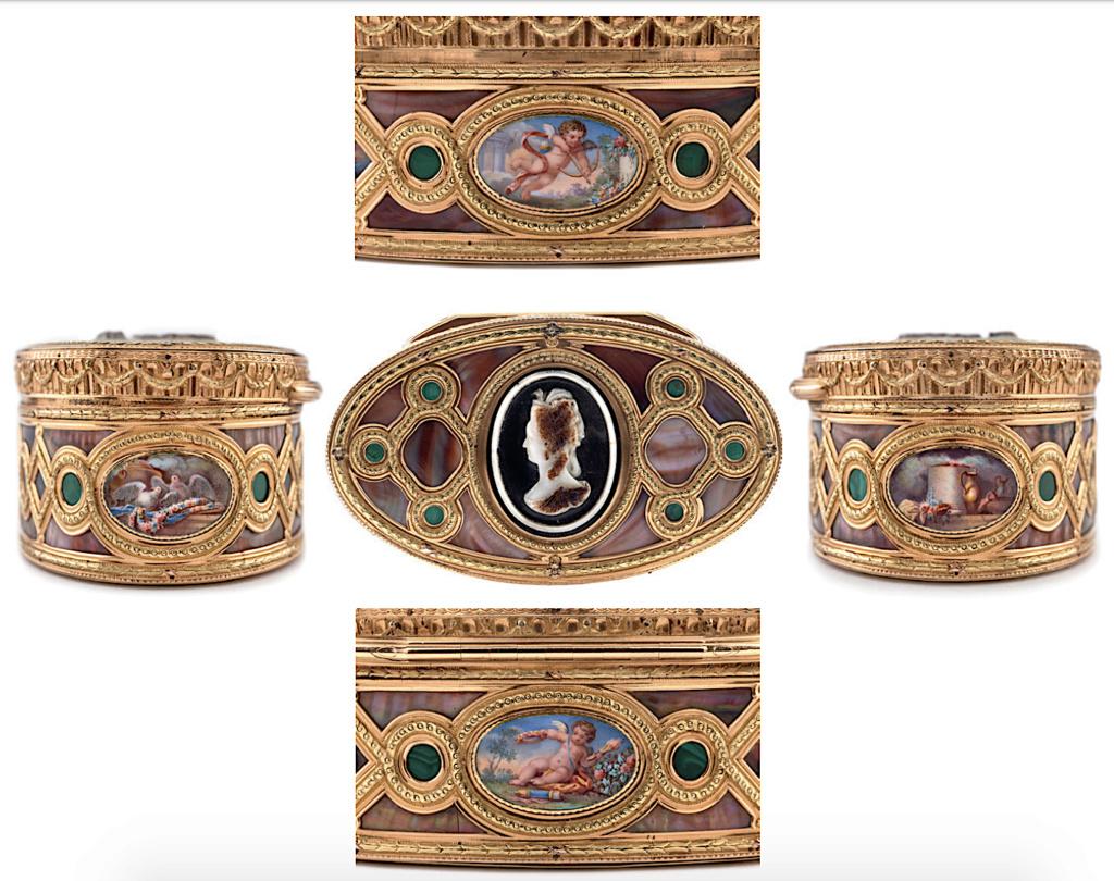 Portraits de Marie-Antoinette sur les boites et tabatières - Page 2 Capt1587