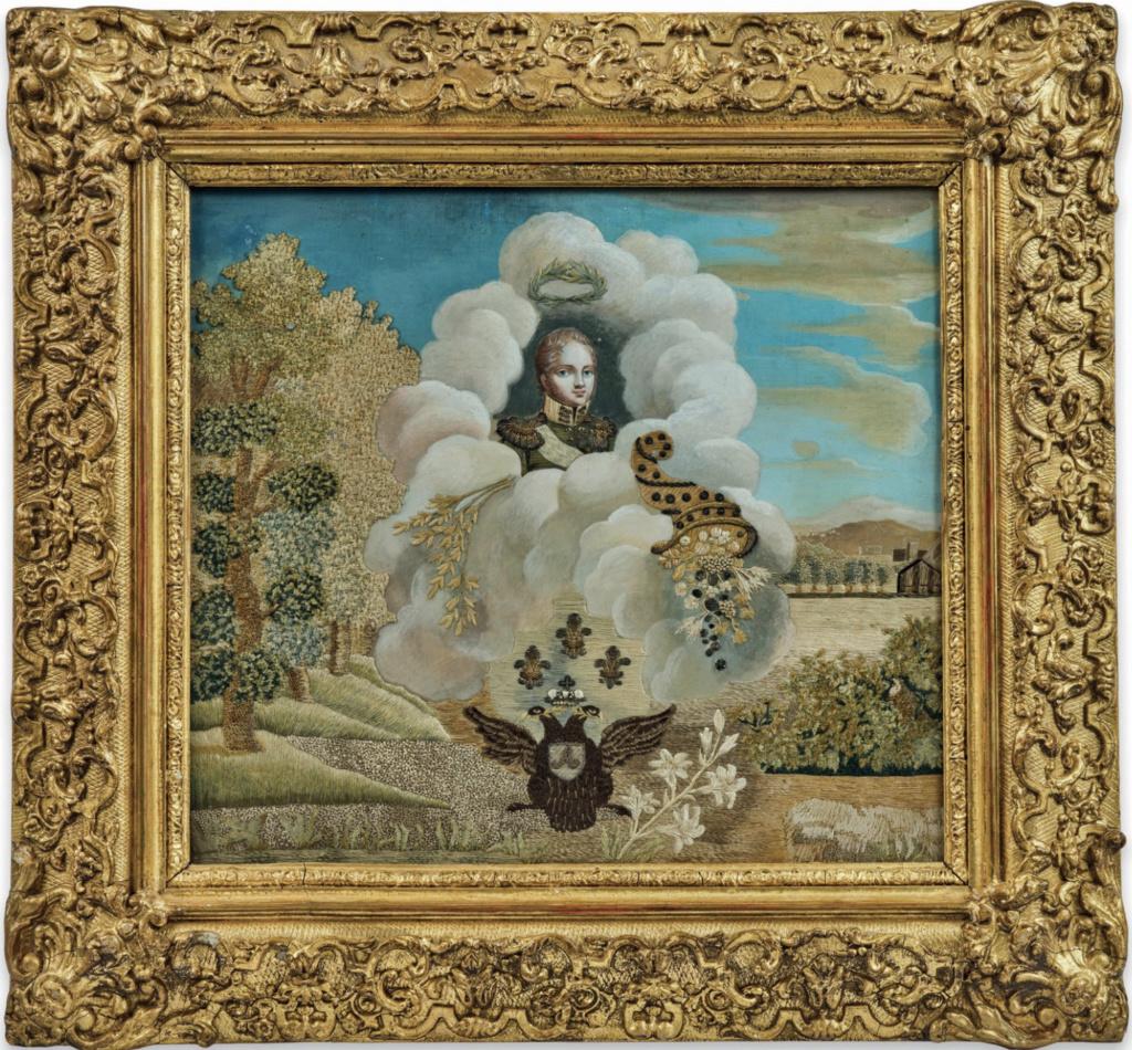 L'entrevue du Tsar Alexandre Ier et de Louis XVIII à Compiègne, le 1er mai 1814 Capt1611
