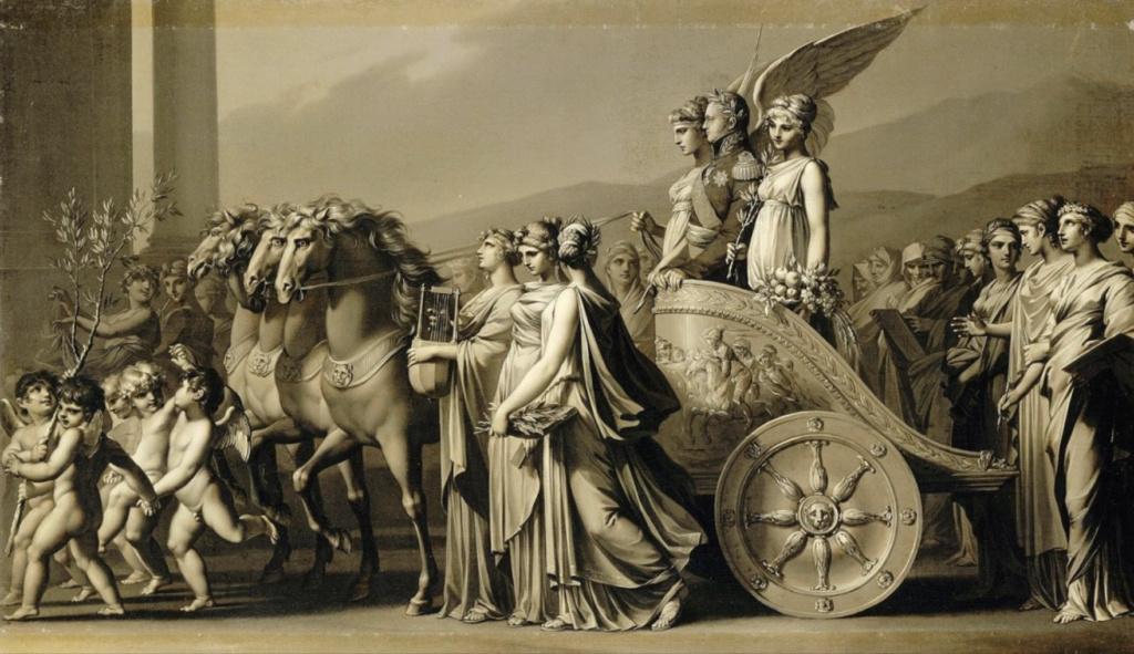 L'entrevue du Tsar Alexandre Ier et de Louis XVIII à Compiègne, le 1er mai 1814 Capt1615